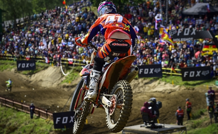VIDEO: PAULS JONASS MX2 WORLD CHAMPION