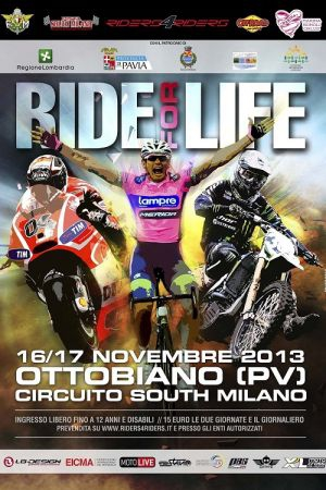 PARTE A OTTOBIANO LA QUARTA EDIZIONE DI RIDE FOR LIFE